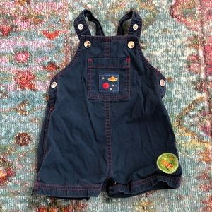 Space/Astronaut/Planet Themed Overalls